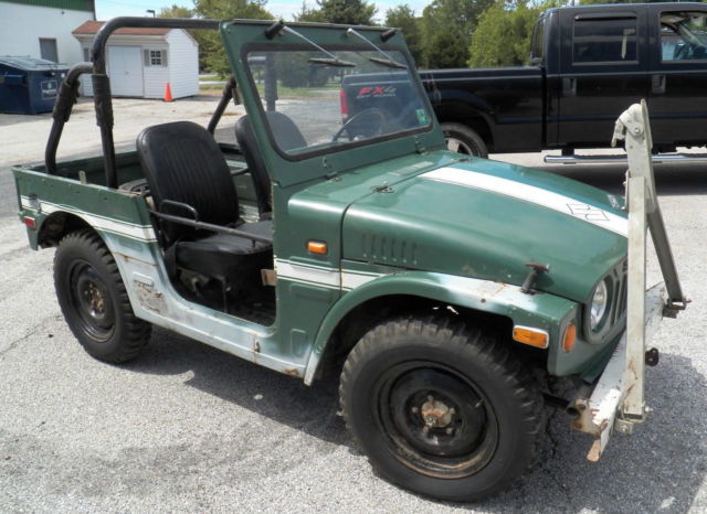 two rare 1972 suzuki lj20 light jeep four wheel drive vehicles with nos parts for sale photos. Black Bedroom Furniture Sets. Home Design Ideas