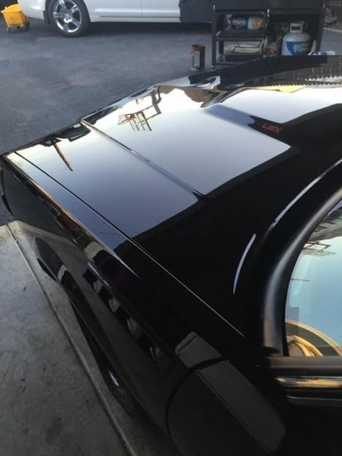 1983 Black Buick Regal Coupe with Black interior