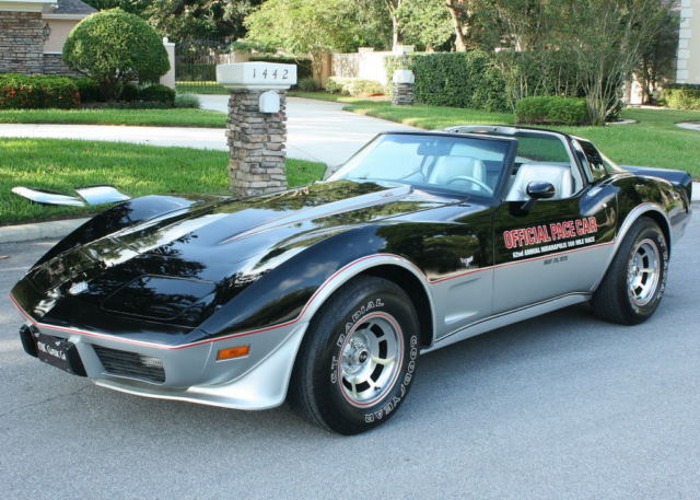 1978 Chevrolet Corvette INDY PACE CAR -  1,100 MI