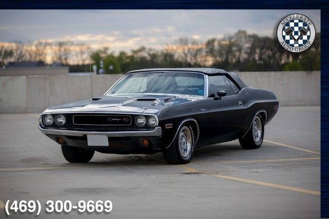 1970 Dodge Challenger Convertible 440 6 Pack Tribute