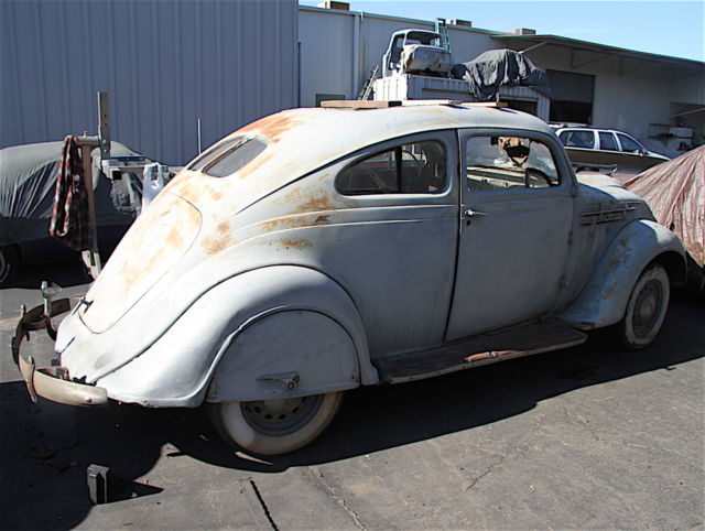 Ultra Rare 1935 Desoto Airflow Sg Coupe Iconic Car In Automotive