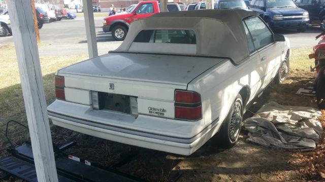 ULTRA RARE 1984 Oldsmobile Cutlass Ciera LS Convertible for sale
