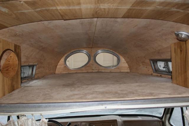 Unique Chevy Camper Van Polished Aluminum Vintage