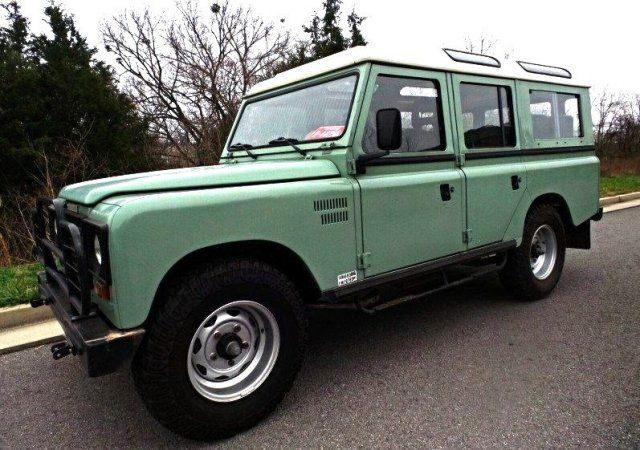 1986 Land Rover Defender 109 Turbo