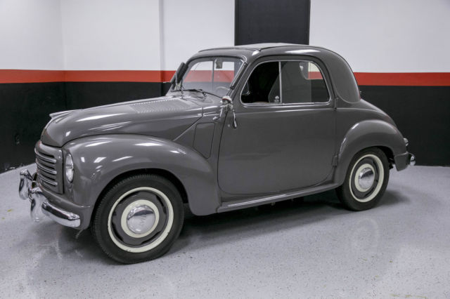 1952 Fiat Topolino COMMEMORATIVE