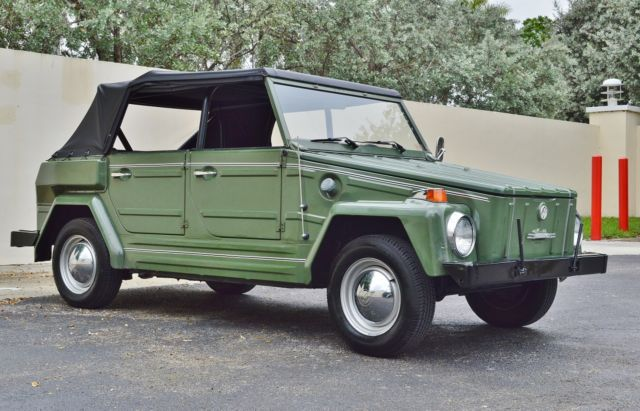 1974 Volkswagen Thing ONE OF THE BEST AVAILABLE