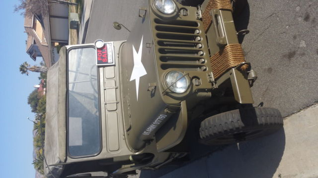 Us Army Korean War Era M Military Jeep Willy Willys on 1952 Willys Jeep M38 For Sale