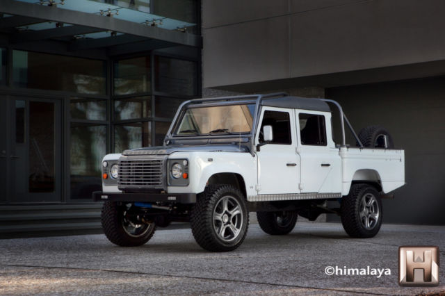 Hilton Head Land Rover >> USA Restored Land Rover Defender Himalaya 130 V8 Automatic ...