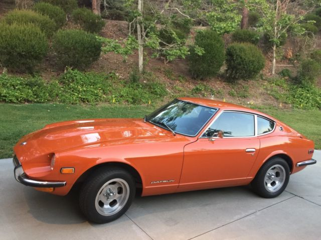 used 1971 orange 918 datsun 240z for sale photos technical specifications description. Black Bedroom Furniture Sets. Home Design Ideas