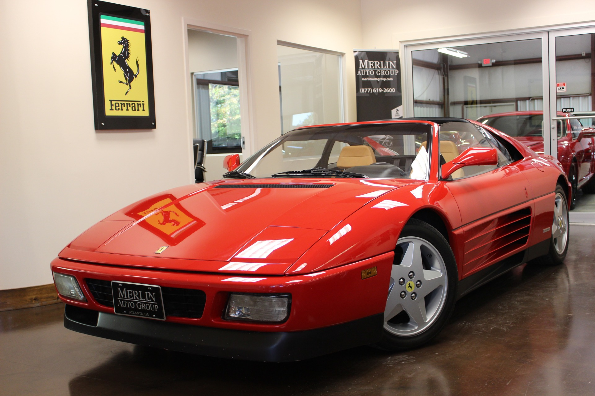 Used 1991 Ferrari 348 TS Rossa Corsa 2-Door V8 3.4L MANUAL