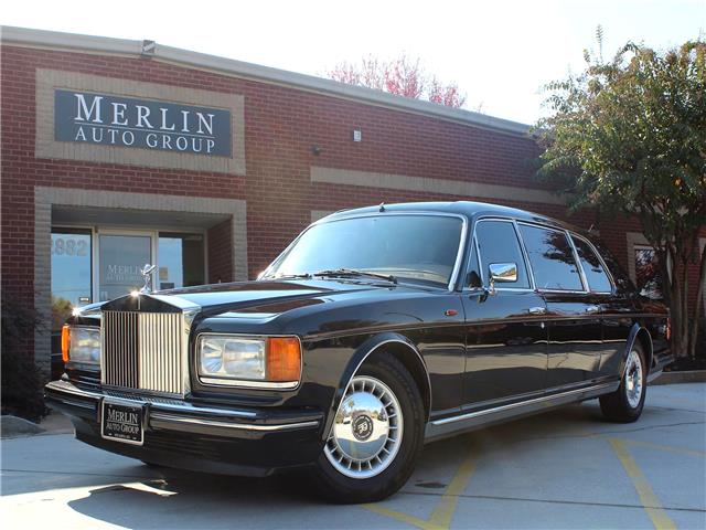 1993 Rolls-Royce Silver Spur II Touring Limousine N/A