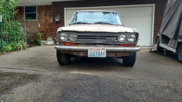 Used Car>71 Datsun 510 2dr - 35 yr project car w/Numerous