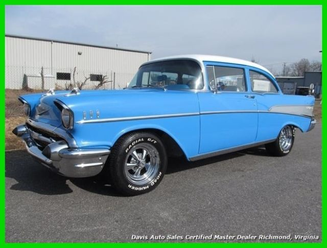 1957 Chevrolet Bel Air/150/210 2dr Coupe Sedan Hard Top 350 5.7L V8 Manual RWD