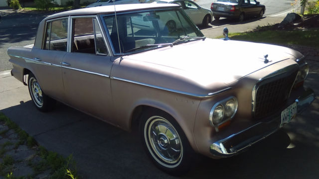 1963 Studebaker Lark Custom 4-door
