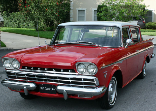 1960 AMC SUPER REBEL  SEDAN - V-8 WITH OVERDRIVE
