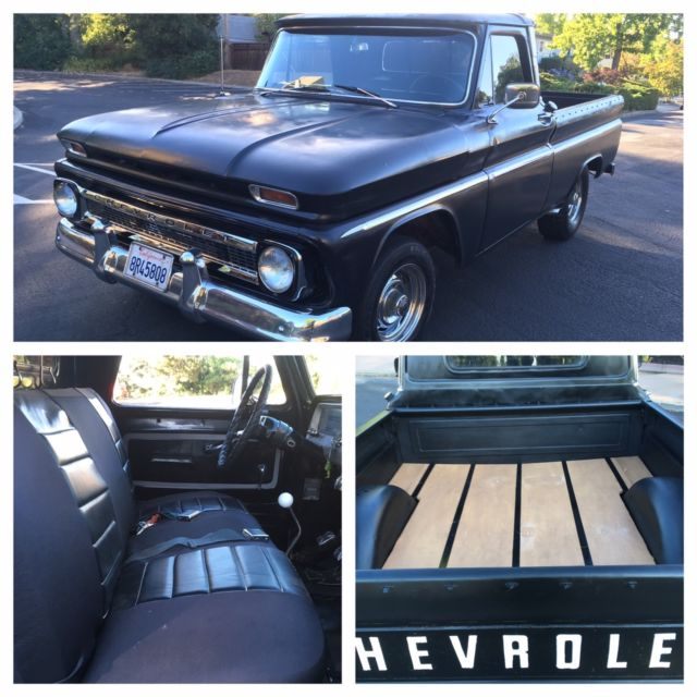 1966 Chevrolet C-10 Shortbed Fleetside