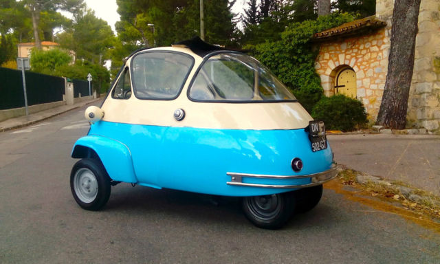 1955 BMW VELAM ISETTA VERY RARE 1ST SERIE MADE IN FRANCE ***50 PICS***
