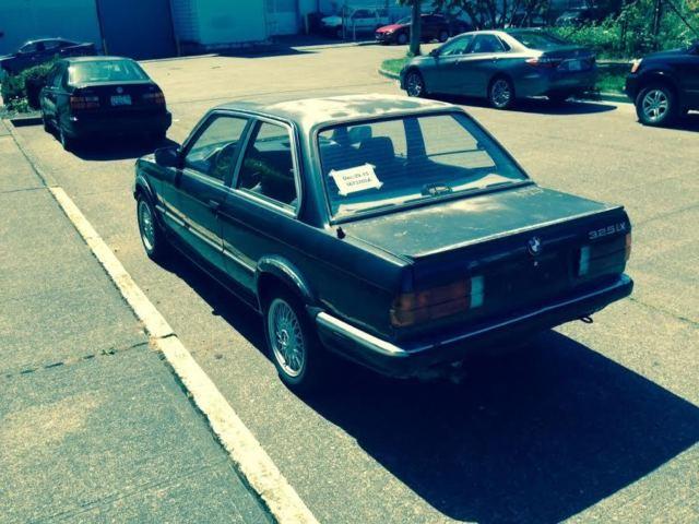 Very 1st BMW 325ix E30 Ever 5 speed Euro Manual Black on