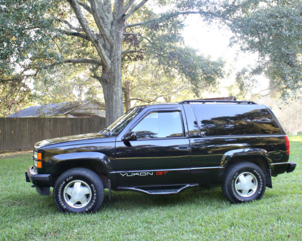 Very Clean 94 Gmc 2dr Yukon Gt 4wd For Sale Photos Technical