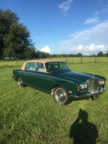 1972 Rolls-Royce Silver Shadow Long Wheel Base Formal Sedan