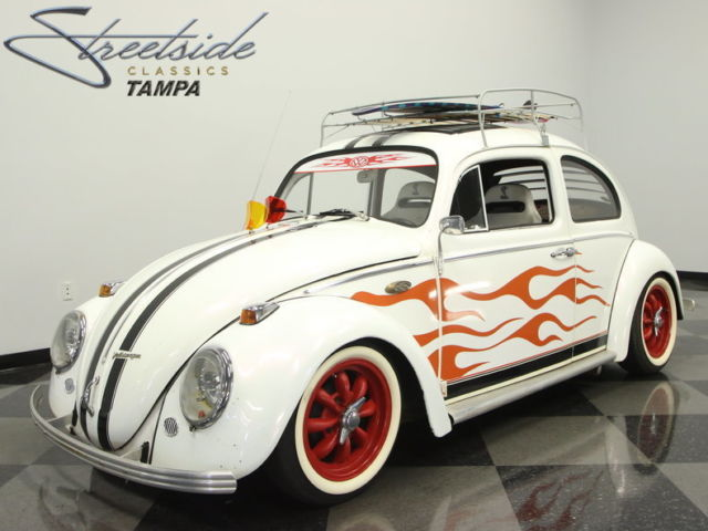 1965 White Volkswagen Beetle - Classic Coupe with Other interior