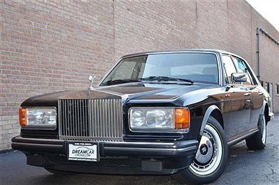 1989 Rolls-Royce Silver Spirit/Spur/Dawn VERY LOW MILEAGE