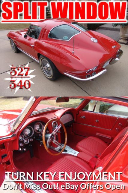 1963 Chevrolet Corvette SplitWindow