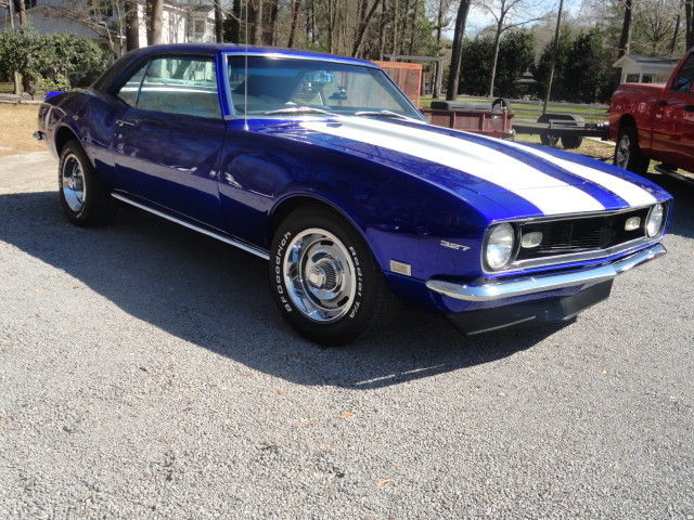 very nice 1968 camaro base with ss striping 327 engine. Black Bedroom Furniture Sets. Home Design Ideas