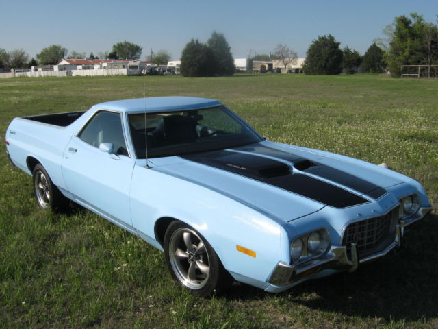 1972 Ford Ranchero REAL GT!! PS PDB A/C TACH N GAUGES NICE CRUISER!!