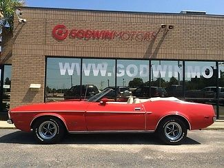 1972 Ford Mustang Convetible