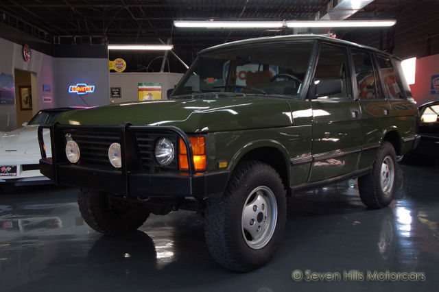 1991 Land Rover Range Rover Hunter