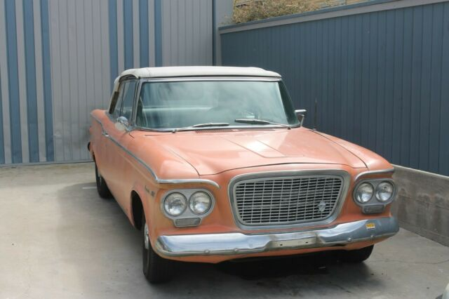 1961 Studebaker 2R10 Convertible V-8 Automatic