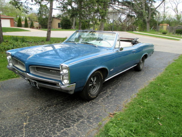 1967 Gto For Sale >> Very Rare 1966 Pontiac Tempest Convertible Sprint 6 Rust Free Beauty for sale: photos, technical ...
