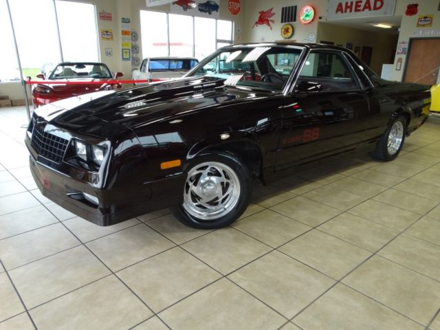1986 Chevrolet El Camino SS Choo Choo Customs for sale photos