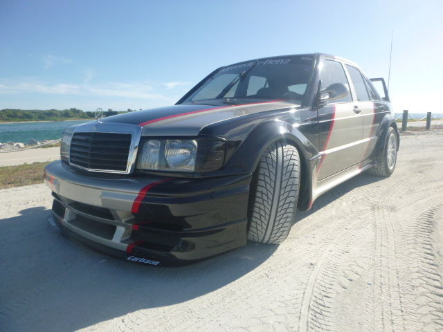 1986 Mercedes-Benz 190-Series CARLSSON EVO II Body kit