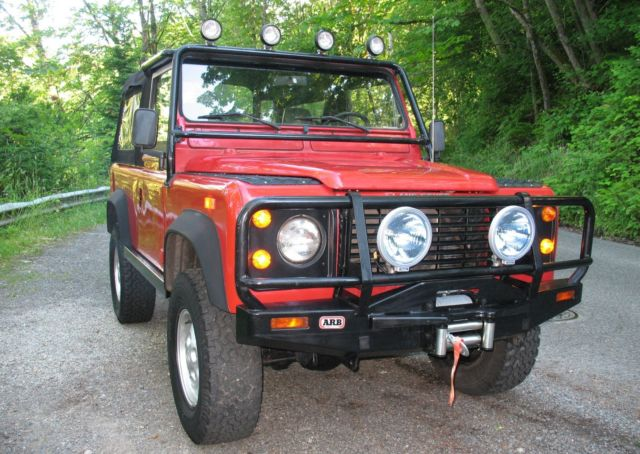 1994 Land Rover Defender NAS #509 New Top 6 passenger A/C Winch 4X4 US Model