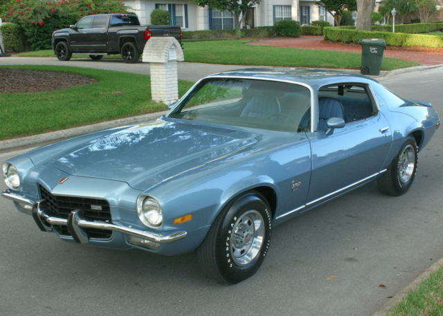 1973 Chevrolet Camaro LT  COUPE - 4 SPEED - A/C - 41K MILES
