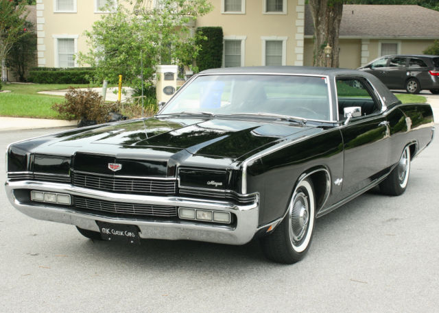 Very rare one of 713 built 1970 mercury marquis brougham coupe very rare one of 713 built 1970 mercury marquis brougham coupe 6k orig mi sciox Images