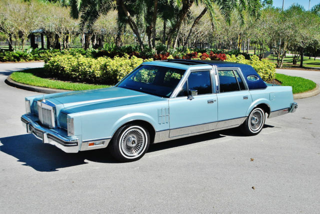 1980 Lincoln Town Car best find on ebay 351 v-8 very rare.