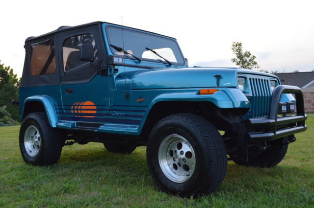 Very rare Restored Jeep Islander YJ 6 Cylinder Very Good Condition ...