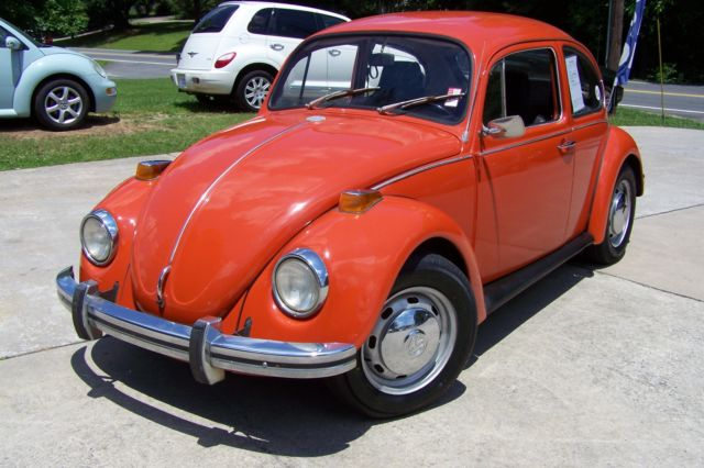 1971 Volkswagen Beetle - Classic VW BUG HEY L@@K A 2 OWNER SOLID GA BUG SINCE NEW