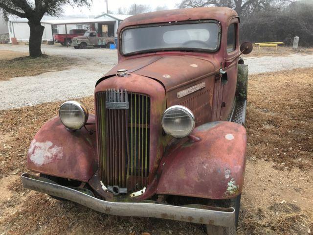 Vintage 1936 Gmc T 14 Truck Original