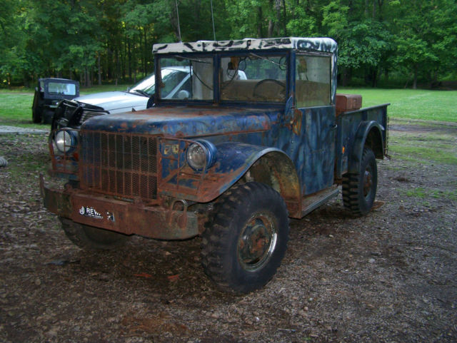 1954 Dodge Power Wagon M37