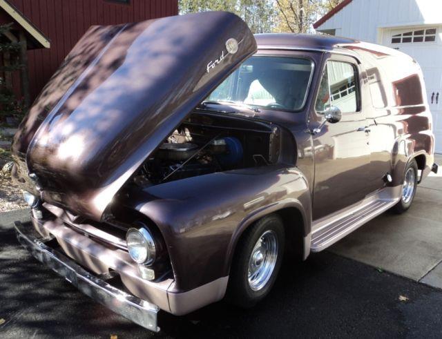 Vintage 1955 FORD 2 Door Panel Wagon 351 W Volare Front Suspension ...