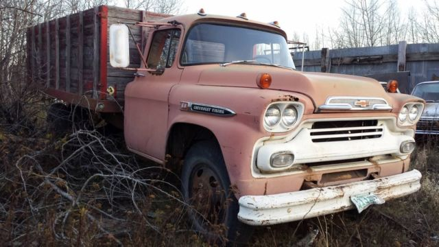 Vintage 1959 59 Chevy Viking 60 1 1 2 Ton Truck Chevrolet For Sale
