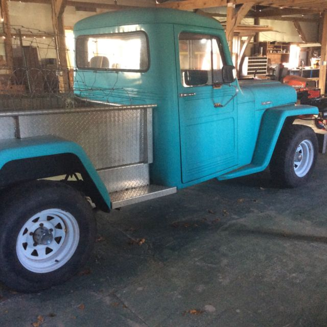 4WD Jeep Willy's Pickup Truck With Original