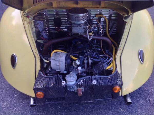 vintage  vw beetle rod baja buggy  corvair motor  sale  technical