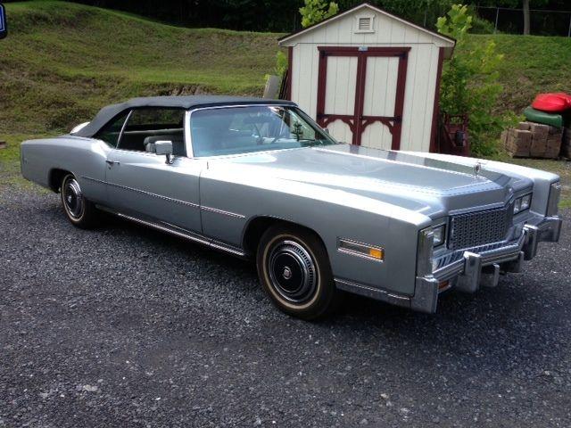 Vintage Cadillac Eldorado Convertible Classic Barn Find Low Miles Caddy