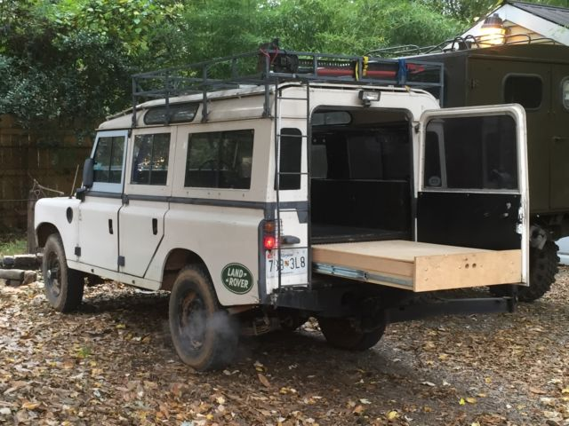 """Used Land Rover Defender >> Vintage 1980 Land Rover Series 3 109"""" Safari Wagon, Pre- Defender for sale: photos, technical ..."""