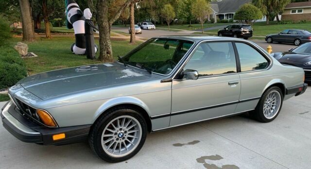 1984 BMW 6-Series Coupe